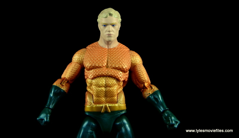DC Icons Aquaman figure review - main pic