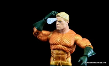 DC Icons Aquaman figure review - telepathic projection left side