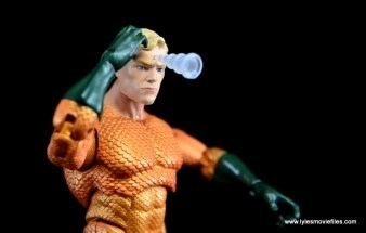 DC Icons Aquaman figure review - telepathic projection right side