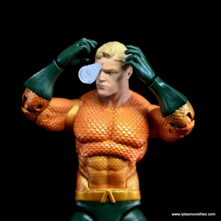 DC Icons Aquaman figure review - telepathic projection