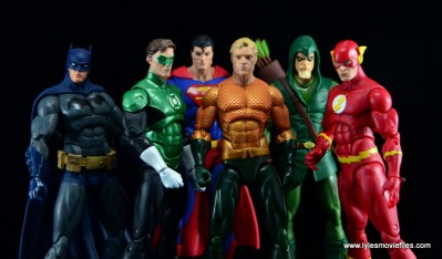 DC Icons Aquaman figure review - with Justice League