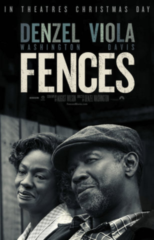 Denzel Washington's Fences poster