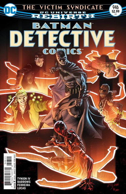 Detective Comics #946 cover