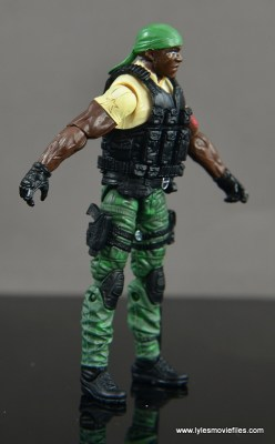 GI Joe Heavy Conflict Heavy Duty and Stiletto figure review - Heavy Duty right side