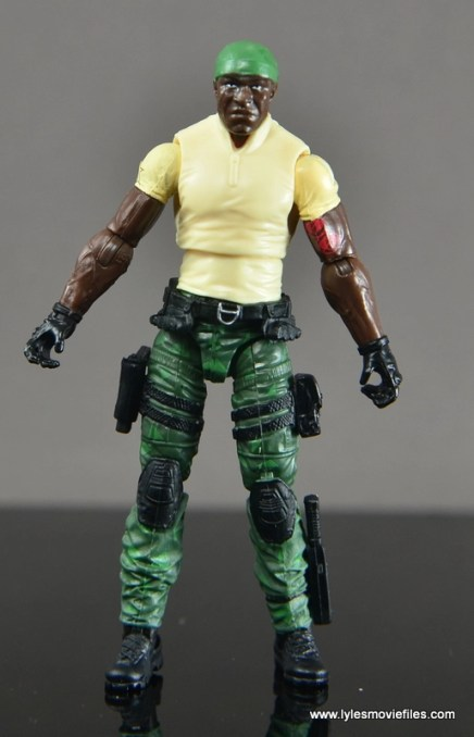 GI Joe Heavy Conflict Heavy Duty and Stiletto figure review - Heavy Duty straight no vest