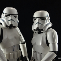 Hot Toys Stormtroopers figure review - main pose