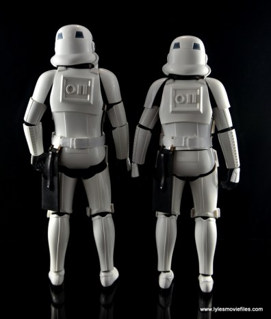 Hot Toys Stormtroopers figure review - rear