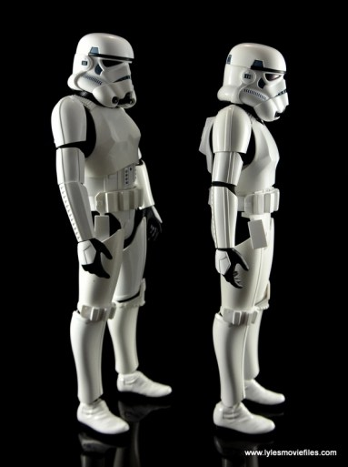 Hot Toys Stormtroopers figure review - right side