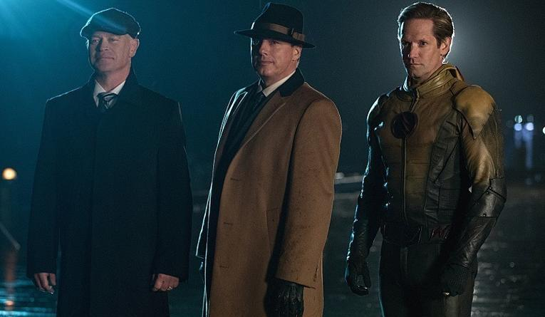 Legends of Tomorrow The Chicago Way review - Darhk, Merlyn and Thawne