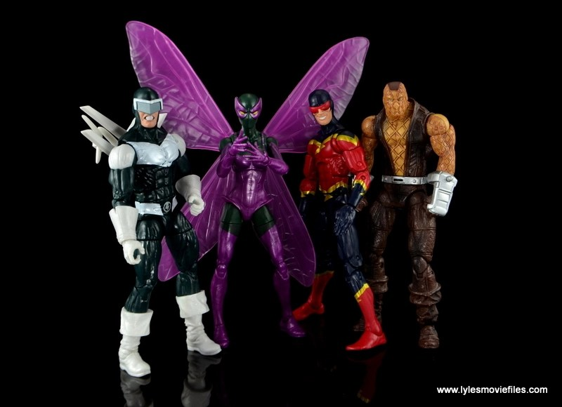 Marvel Legends Beetle figure review -with Superior Foes of Spider-Man Boomerang, Speed Demon and Shocker