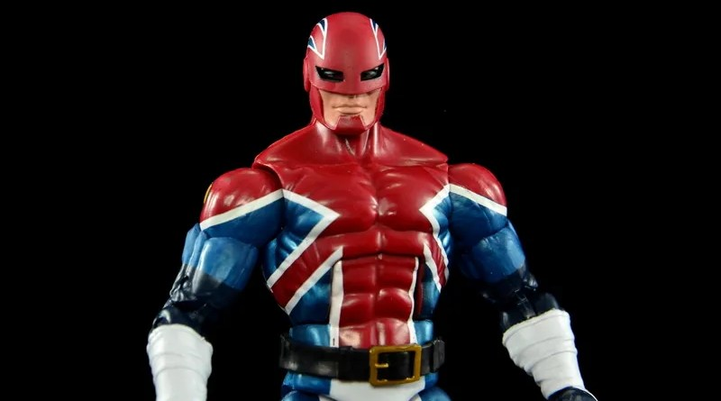Marvel Legends Captain Britain figure review - main pic