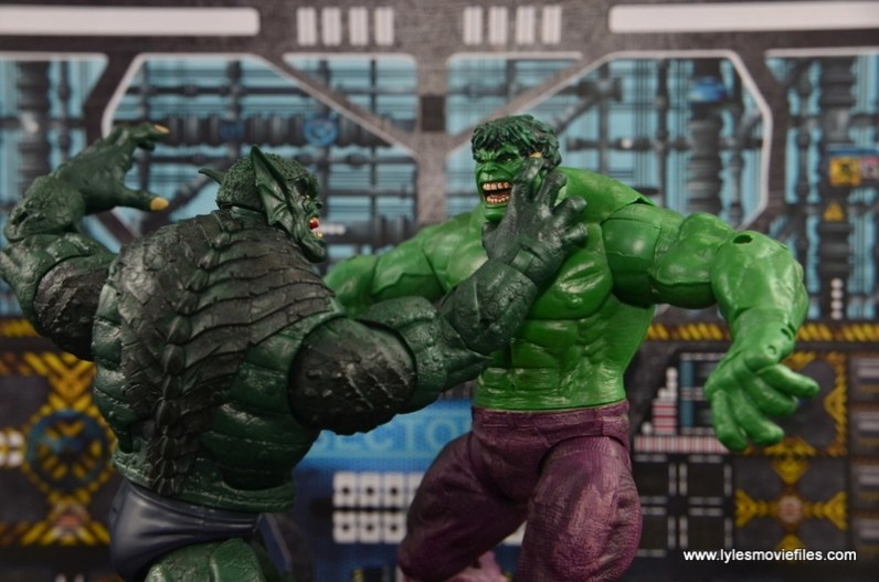 Marvel Legends The Raft figure review Abomination vs The Hulk