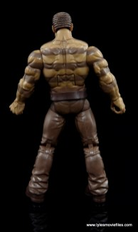 Marvel Legends The Raft figure review - Sandman rear