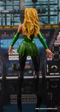 Marvel Legends The Raft figure review The Enchantress rear
