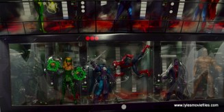 Marvel Legends The Raft figure review figures in tray