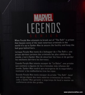 Marvel Legends The Raft figure review writeup
