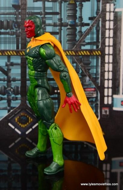 Marvel Legends Vision figure review -left side