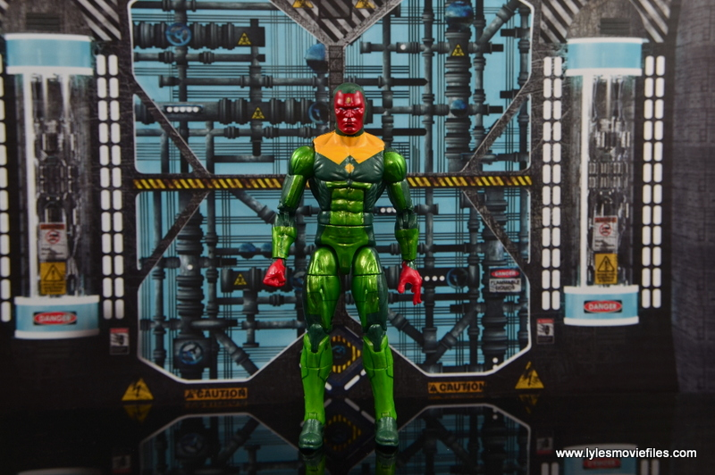 Marvel Legends Vision figure review - no cape