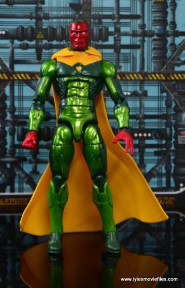 Marvel Legends Vision figure review -straight
