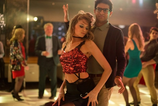 Office Christmas Party Review Abbey Lee And Karan Soni