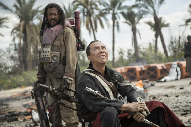 Rogue One A Star Wars Story review - Baze and Chirrut