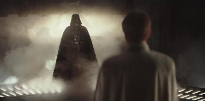 Rogue One A Star Wars Story review - Darth Vader and Orson Krennic