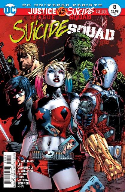 Suicide Squad #8 cover