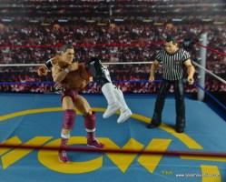 WWE Elite 45 Steve Regal figure review - double underhook to Rey Mysterio Jr