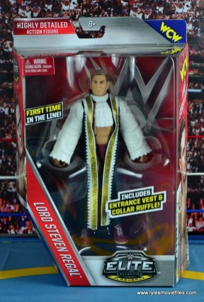 WWE Elite 45 Steve Regal figure review - front package