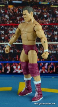WWE Elite 45 Steve Regal figure review -left side