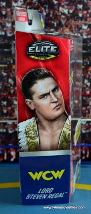 WWE Elite 45 Steve Regal figure review - package side