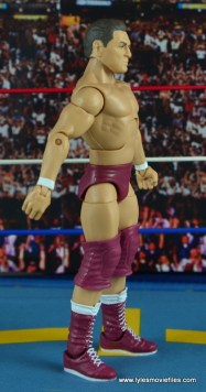 WWE Elite 45 Steve Regal figure review -right side