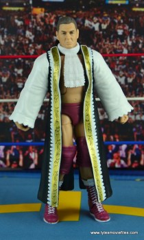 WWE Elite 45 Steve Regal figure review -with robe front