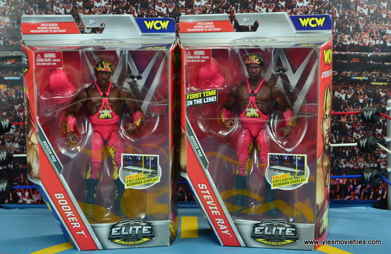 WWE Elite 46 Harlem Heat figure review - front package