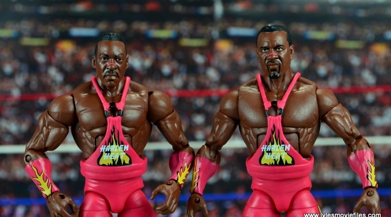 WWE Elite 46 Harlem Heat figure review - main pic