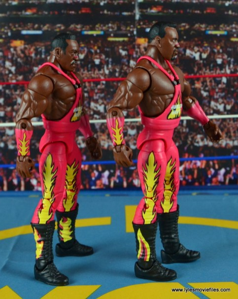WWE Elite 46 Harlem Heat figure review - right side
