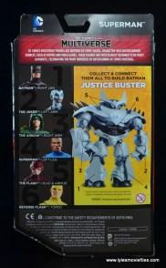 DC Multiverse Elite-23 Superman figure review - package rear