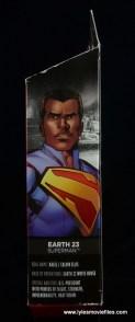 DC Multiverse Elite-23 Superman figure review - side package