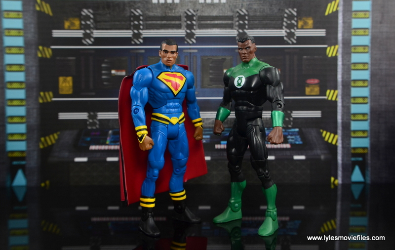 DC Multiverse Elite-23 Superman figure review - with John Stewart