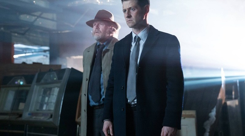 Gotham - Ghosts review - Bullock and Gordon