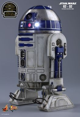 Hot Toys Star Wars The Force Awakens R2-D2 figure - left side