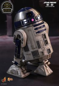 Hot Toys Star Wars The Force Awakens R2-D2 figure -right side