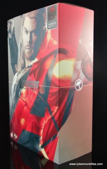 Hot Toys Thor figure review Avengers Age of Ultron -package side
