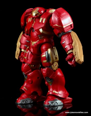 Marvel Legends Hulkbuster Iron Man figure review - left side