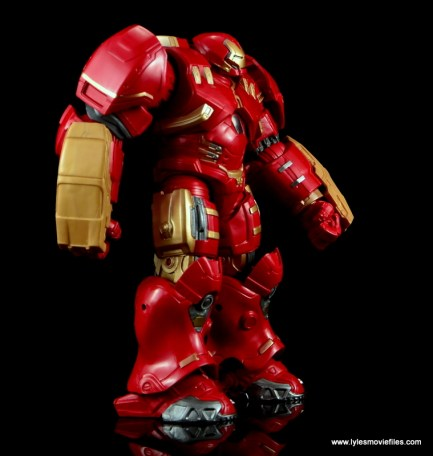 Marvel Legends Hulkbuster Iron Man figure review - right side