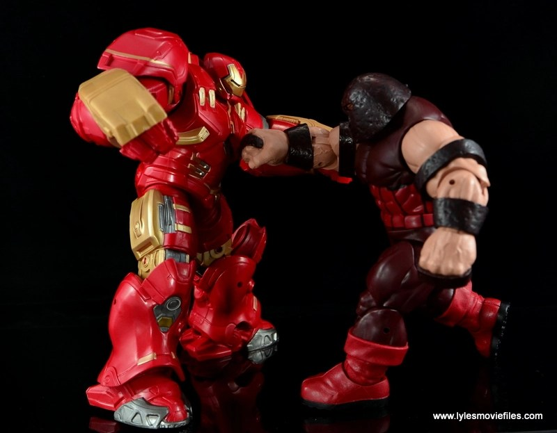 Marvel Legends Hulkbuster Iron Man figure review - vs Juggernaut