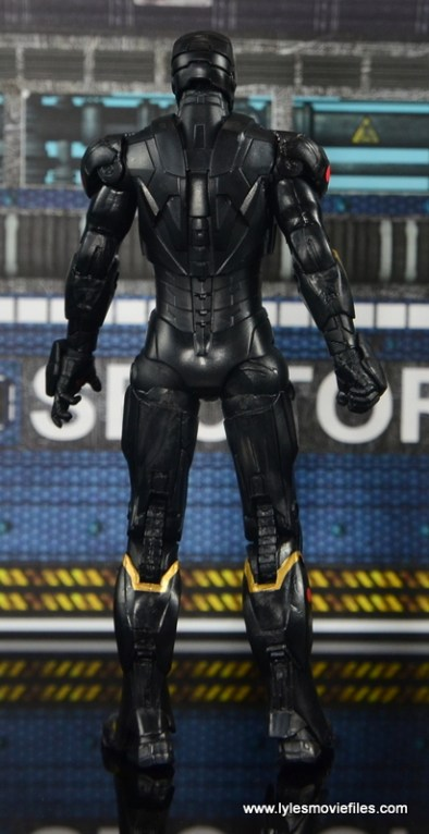 Marvel Legends Marvel Now Iron Man figure review - rear