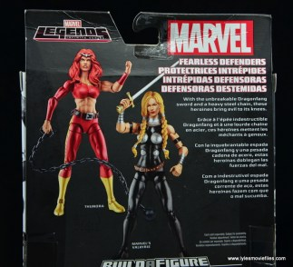 Marvel Legends Thundra figure review - bio