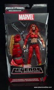 Marvel Legends Thundra figure review - front package