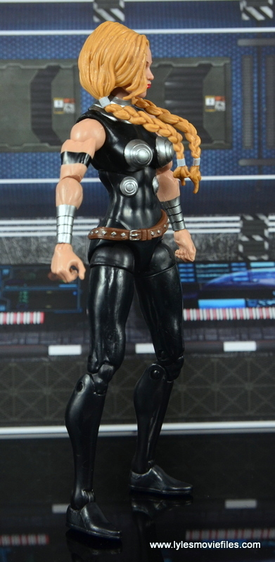 Marvel Legends Valkyrie figure review - right side